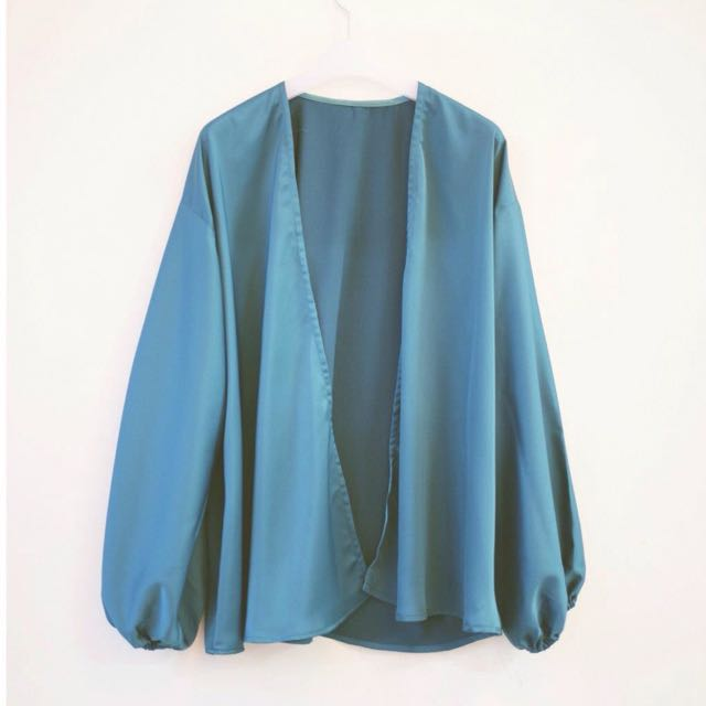 Loose Silk Jenna Cardigan Outerwear