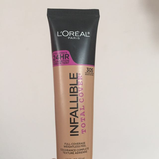 L'Oréal full coverage foundation [305]