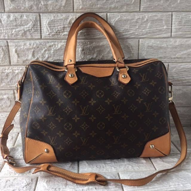 963677b516fa Louis Vuitton Lv Retiro Gm Canvas Monogram
