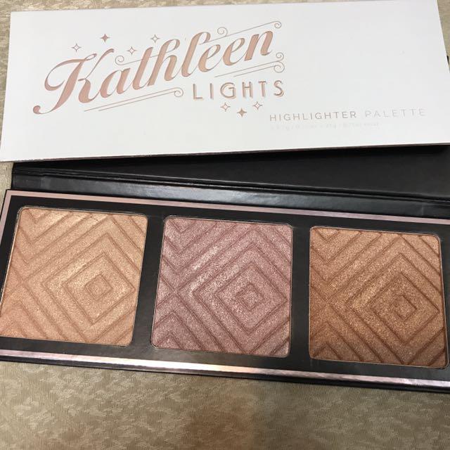 Makeup Geek x Kathleen Lights 聯名打亮盤