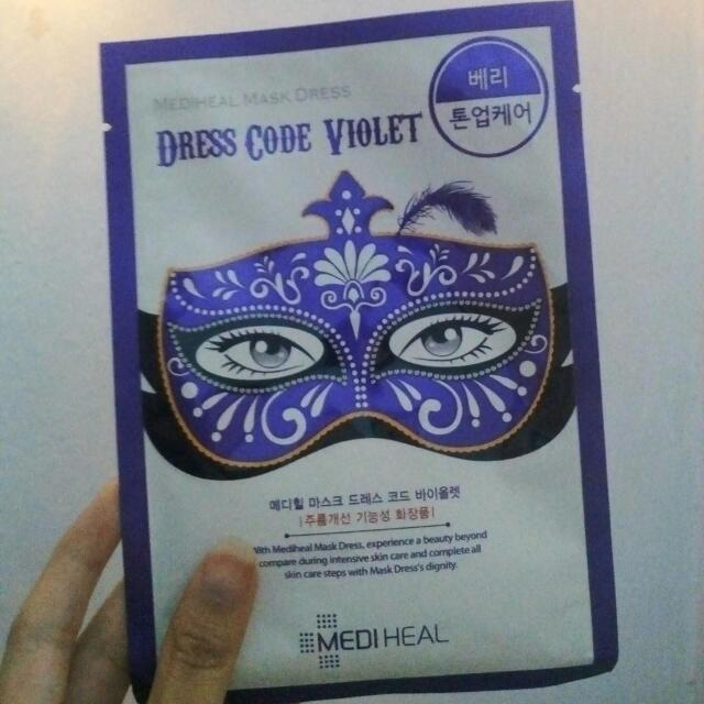 Masker Mediheal Party Mask Korea