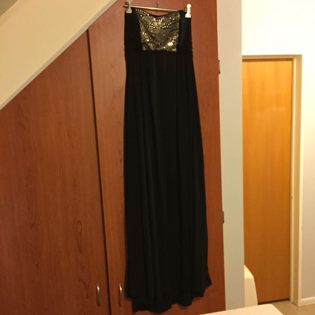 Maxi dress sparkly shimmer