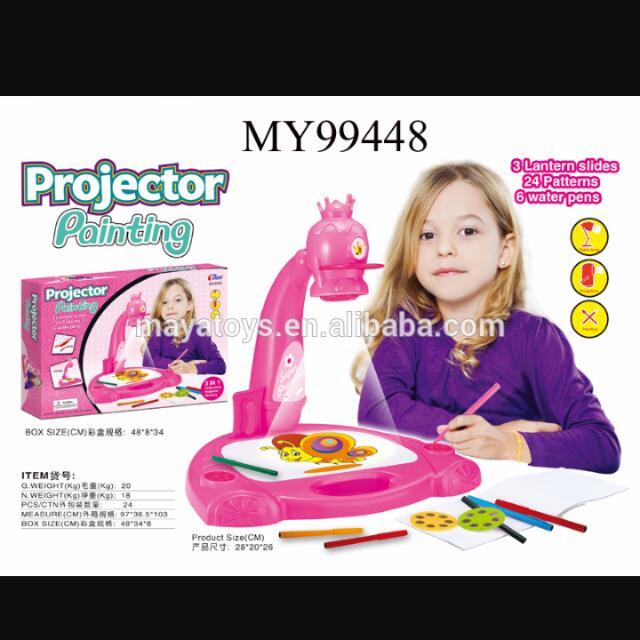 Meja Belajar Proyektor