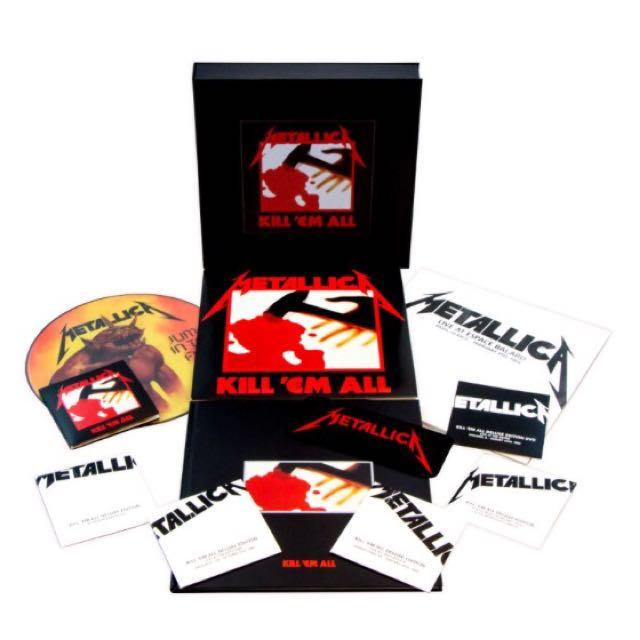 Metallica Kill 'em All - Remastered Deluxe Box Set