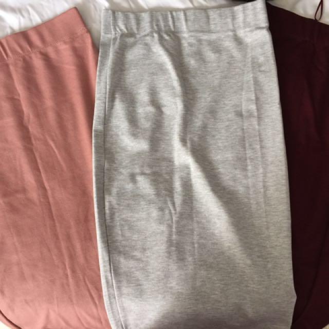 Midi Length Skirts - Bundle