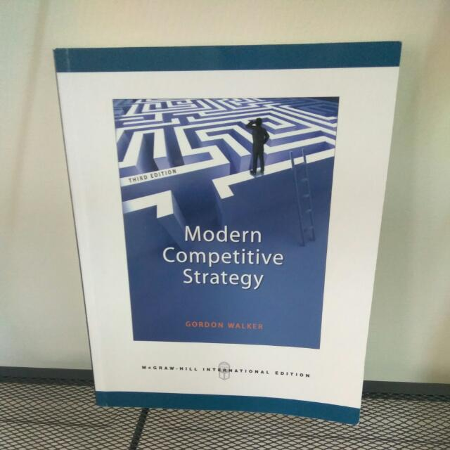 Modern Competitive Strategy 現代競爭策略