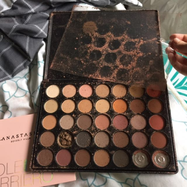 Morphe and Anastasia Beverly Hills pallets