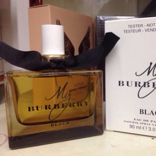 my burberry black tester 90ml