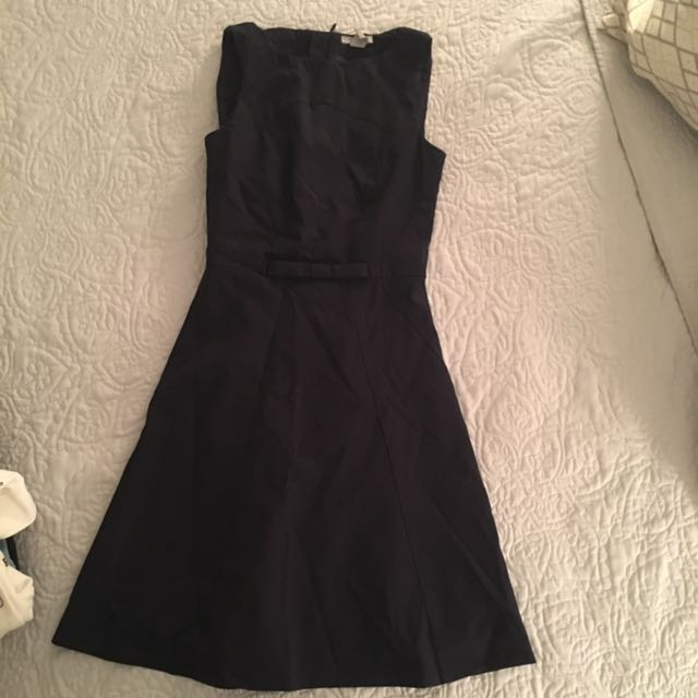 Navy dress h&m size 4