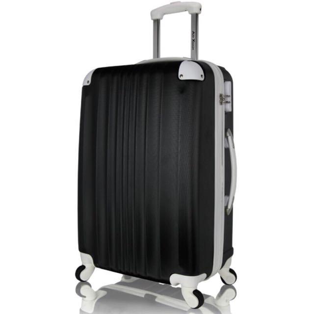 NBA配色 28吋可加大硬殼行李箱 嚴選ABS耐磨防刮旅行箱 靜音萬向輪拉桿箱 玩色人生系列