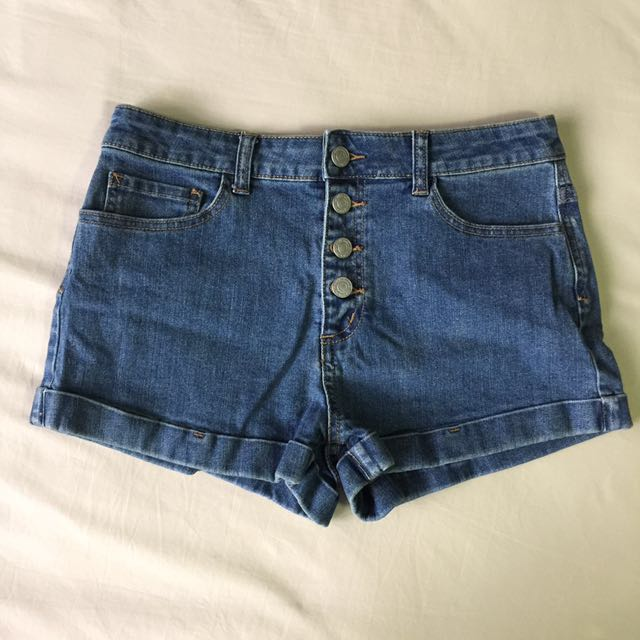NET Denim Shorts