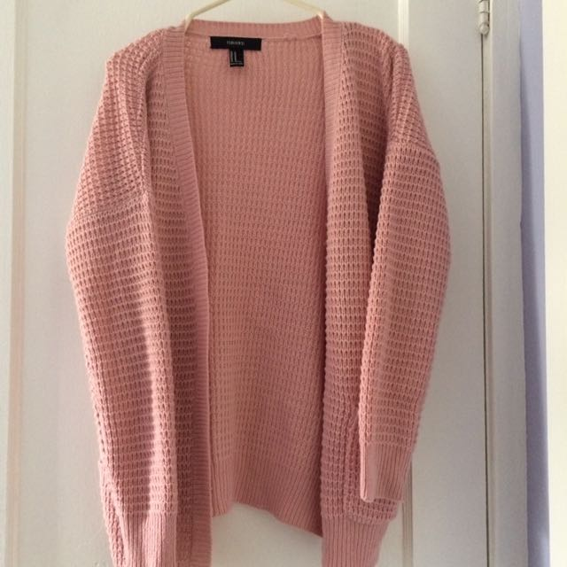New Pink Cardigan