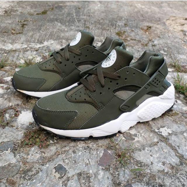 Nike Huarache GS Original Green Olive