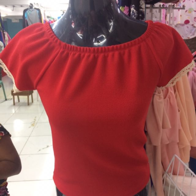 Off shoulder blouses