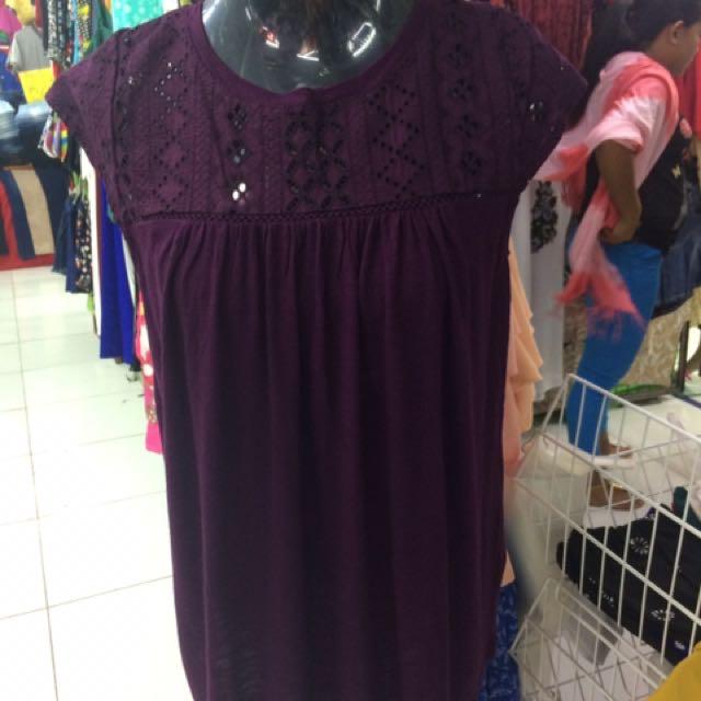 Overruns plus size blouse