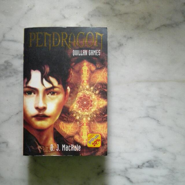 Pendragon: Quillan Games (Book 7) by D.J. MacHale