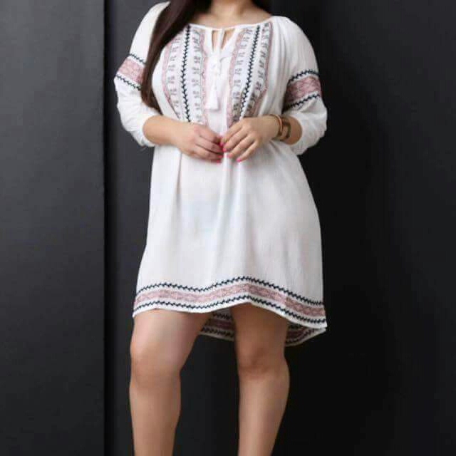 PLUS SIZE Bohemian Inspired Dress