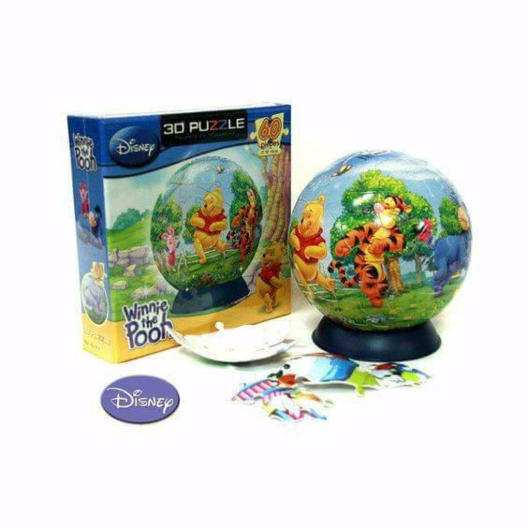 Pooh Puzzle Globe