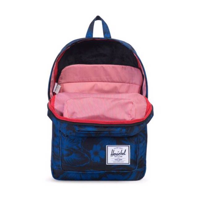 70b6fa25cde PREORDER  HERSCHEL SUPPLY POP QUIZ BACKPACK (FLORAL JUNGLE BLUE ...