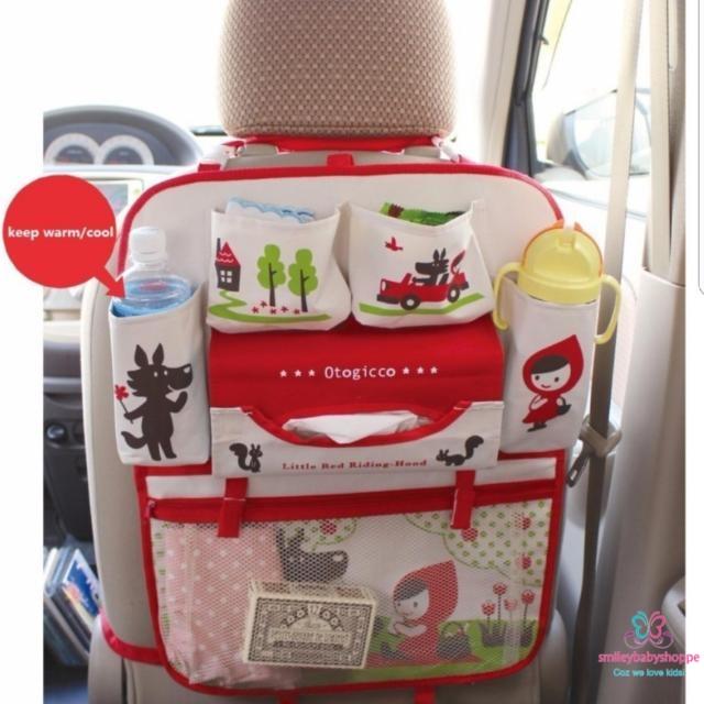 SALE @ $19.90!*Baby Car Seat Organizer Storage Red Riding Hood ...