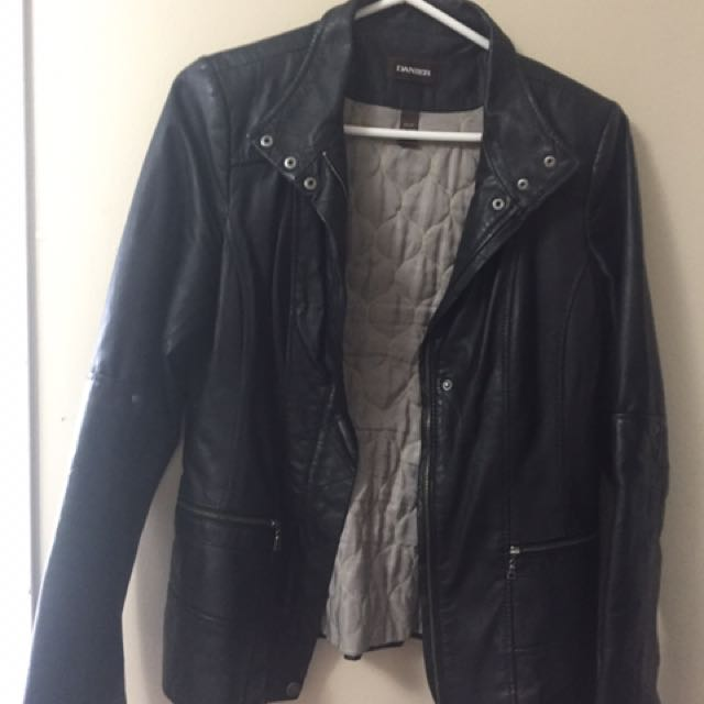 Real leather jacket xs