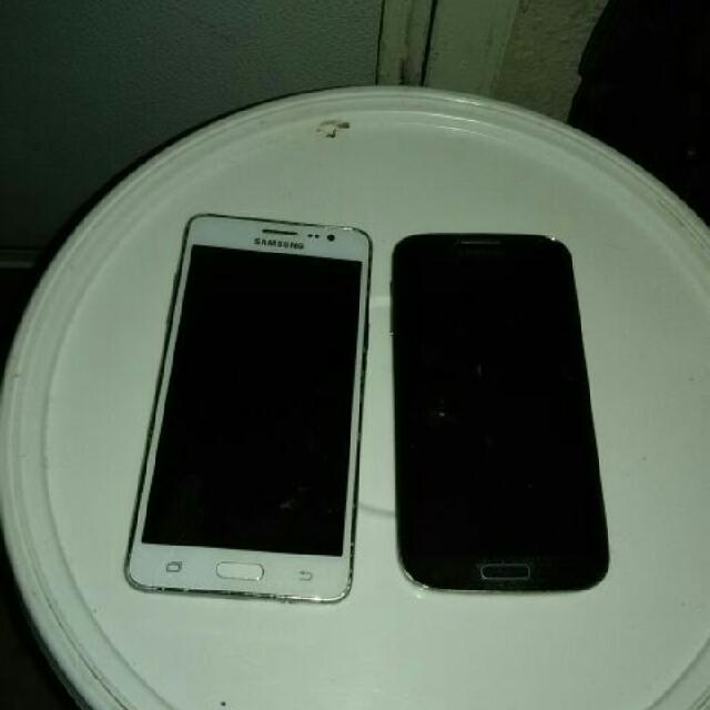 Samsung Galaxy On5 And A Samsung Galaxy S4