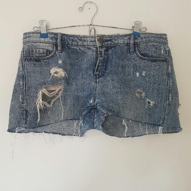 Sass And Biden Denim Shorts