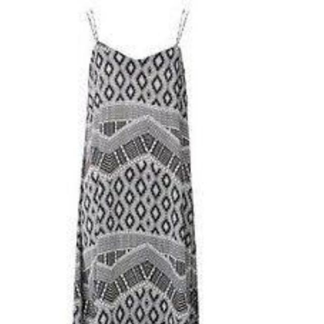 Seed Maxi Dress Size 6 New