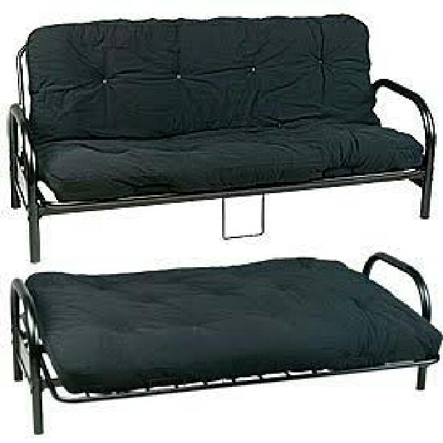 Sofa Bed Black Metal Frame Home