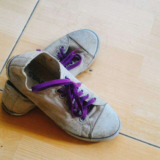 Soft Purple Shoes
