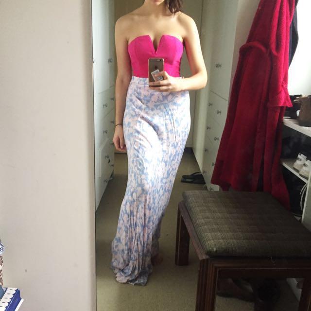 Somedays Lovin Pastel Maxi Skirt
