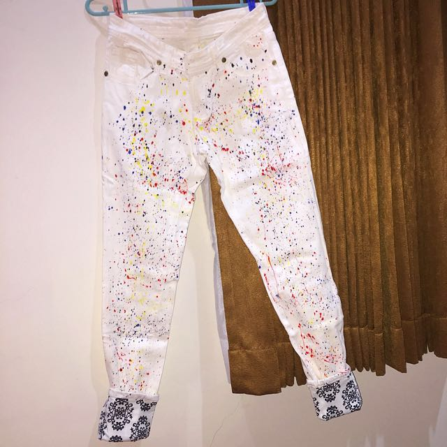 Splash jeans
