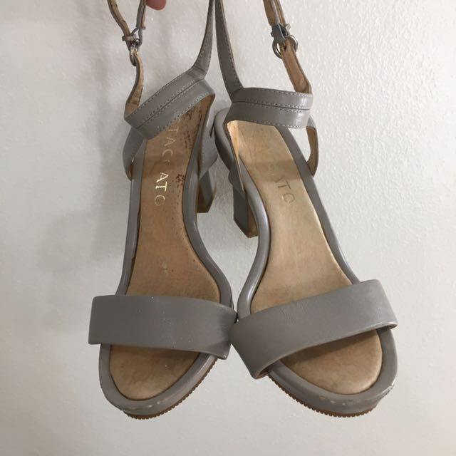 Staccato Gray Sandals