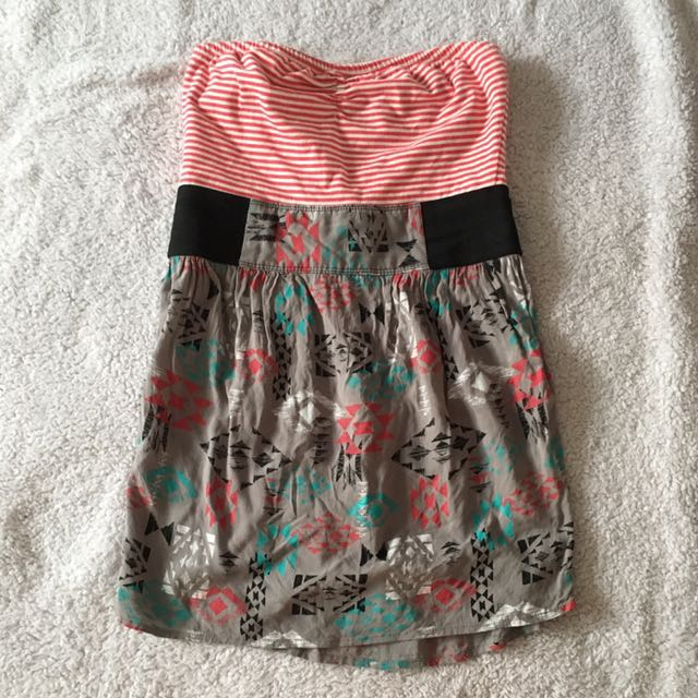 strapless zumiez dress