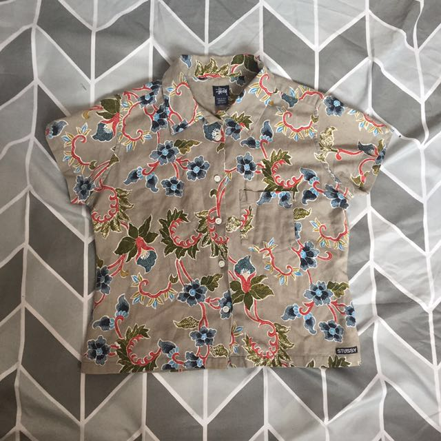 stussy Hawaiian shirt