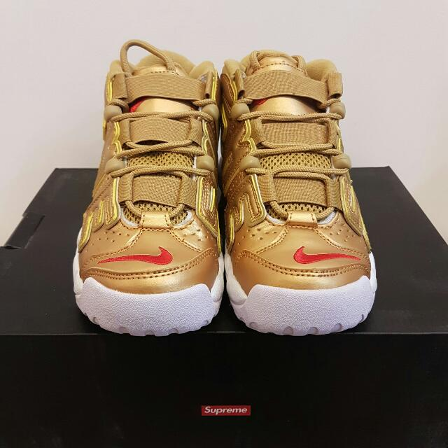 new product b9722 7c4b2 Supreme Nike air more uptempo