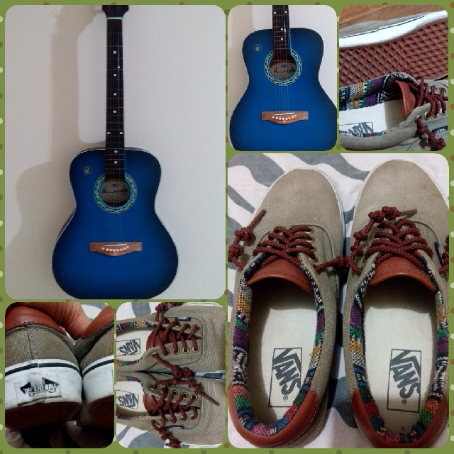 Swap To Cellphone!!! Van's Era Size 7us And Guitar Rj Maze 2!!!