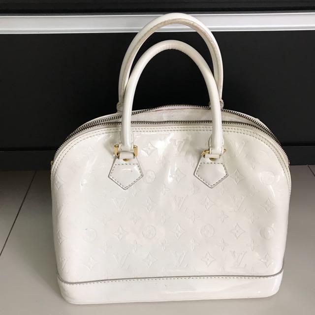 tas Lv putih tas putih tas wanita white bag womans bag