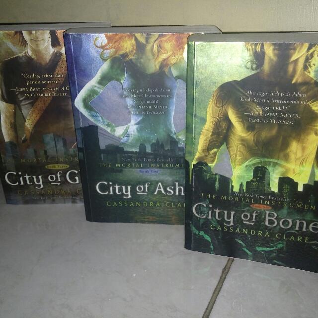 The Mortal Instruments Book 1-3