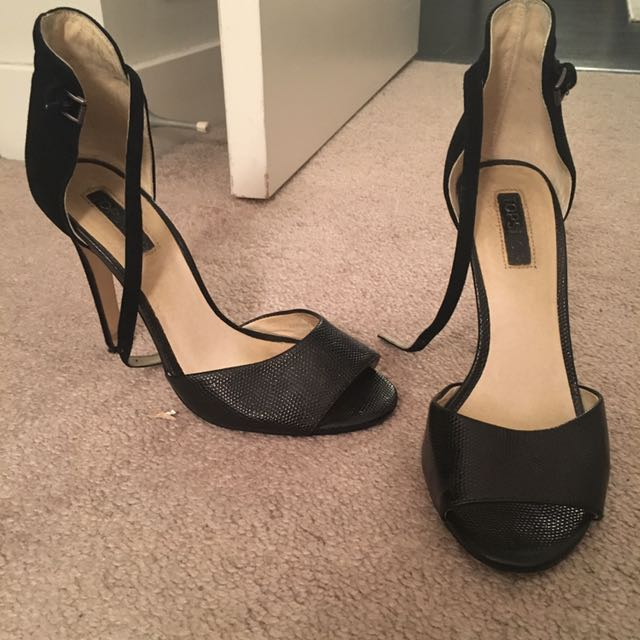 Topshop leather heel size 7.5