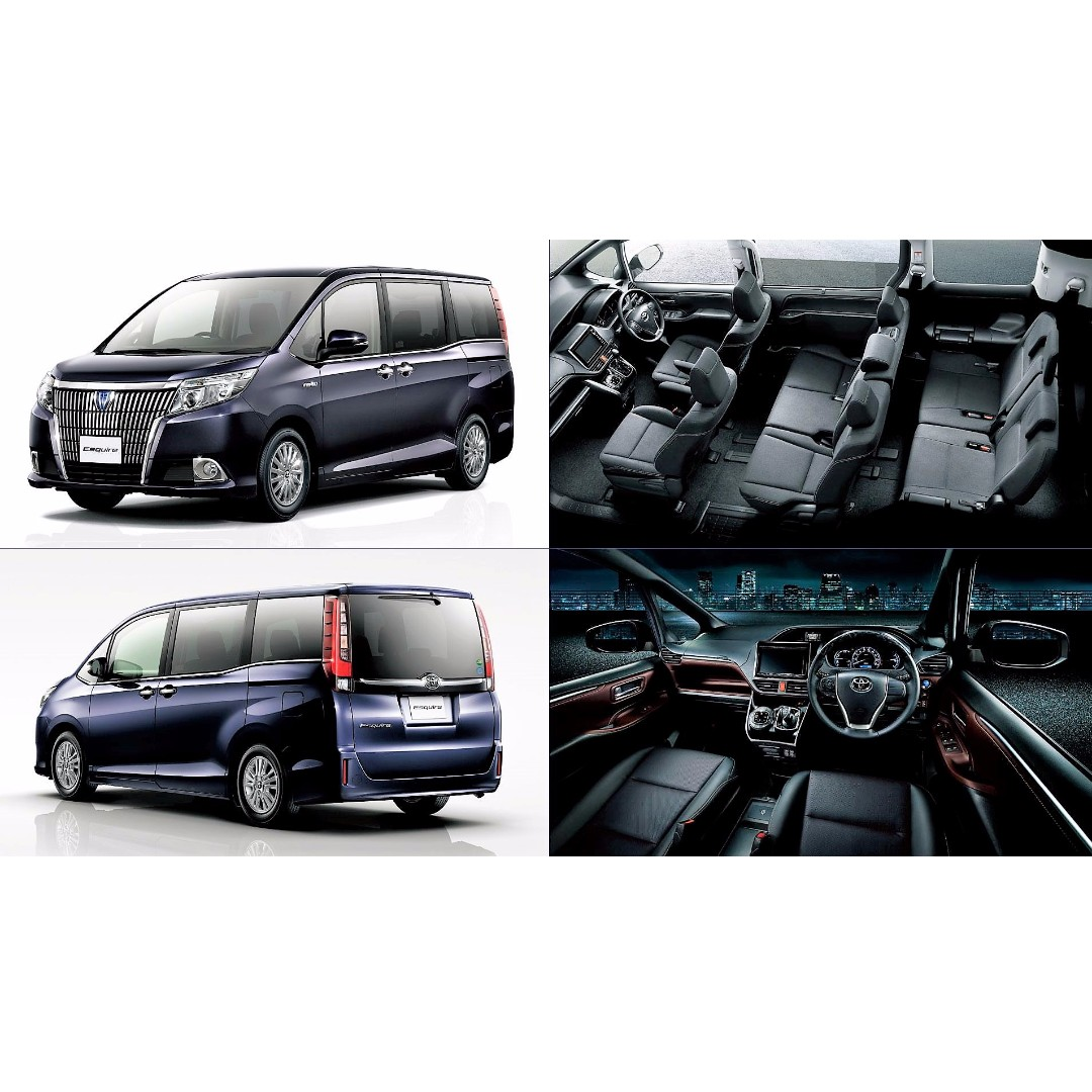 TOYOTA ESQUIRE XI 2.0A 8 SEATER, Cars, Cars for Sale on Carousell