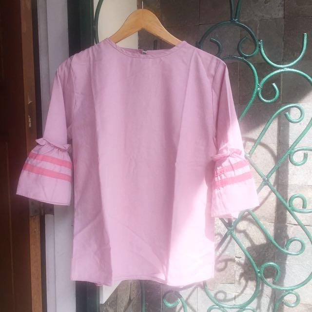 Trumpet Pink Top