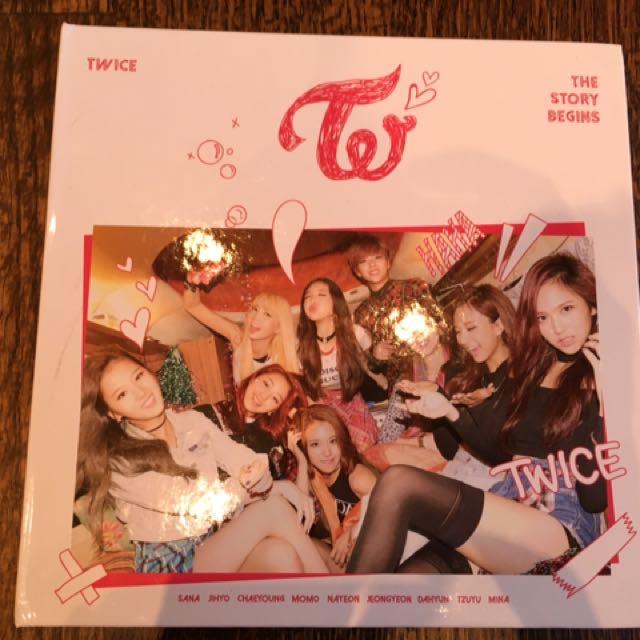 Twice Album - no photo card