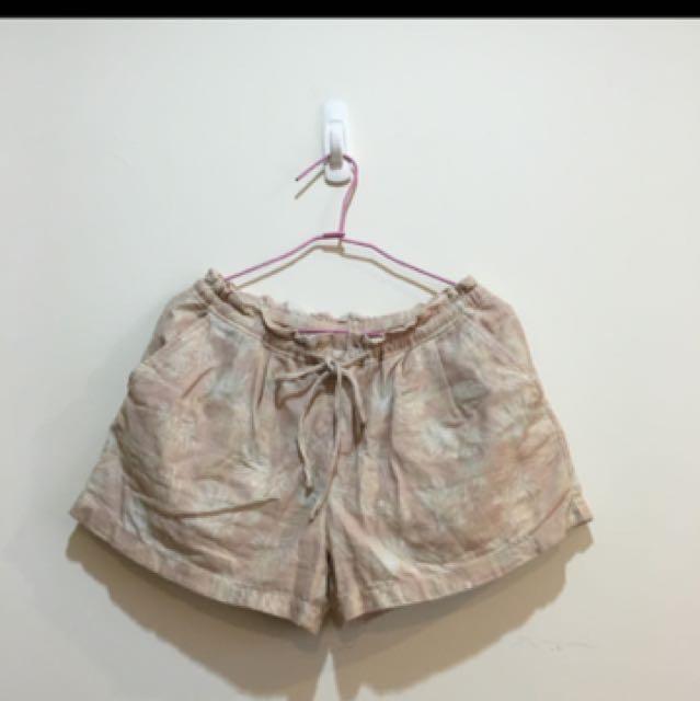 Ungrid休閒棉麻短褲