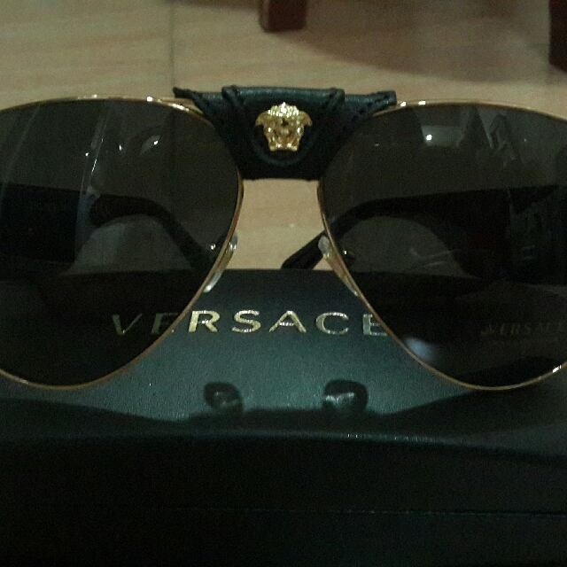 where can i buy exceptional range of styles wide range Versace Black Baroque Sunglasses