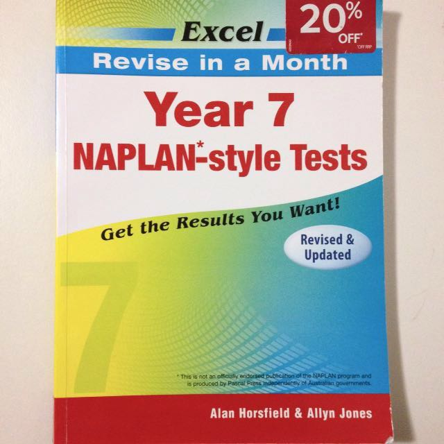 Year 7 NAPLAN Style Tests Book
