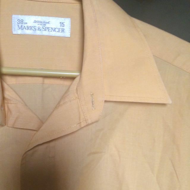 Yellow Mark & Spencer Polo Shirt