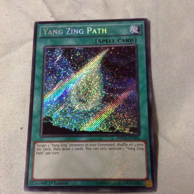 Yugioh Card: Yang Zing Parh