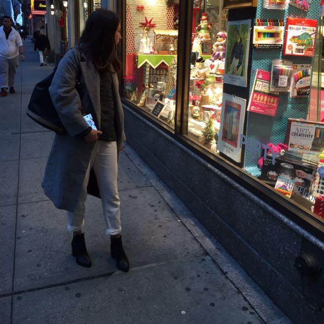 Zara NY coat