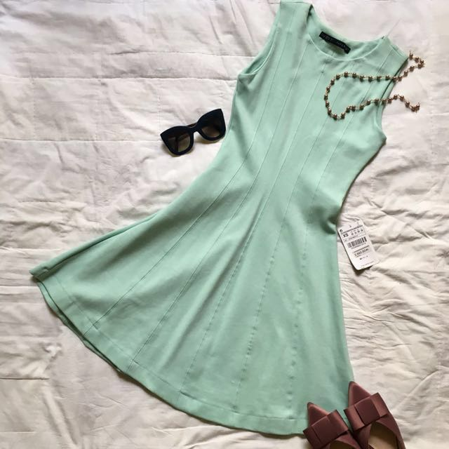 Zara Soft Mint Dress